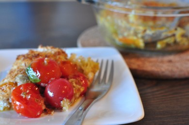 Рецепт Гратин с помидорами