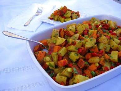 Рецепт Индийский картофельный салат