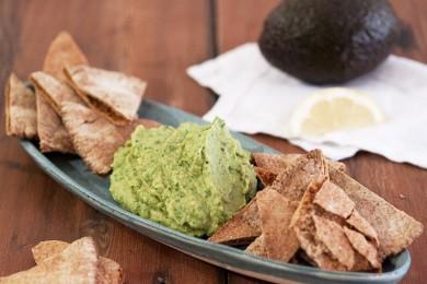 Рецепт Хумус с авокадо и кинзой