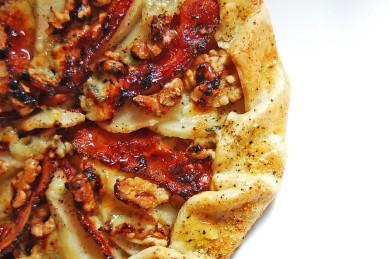 Рецепт Грушевый тарт с сыром