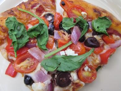 Рецепт Пицца по-гречески