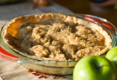 Рецепт Датский яблочный пирог