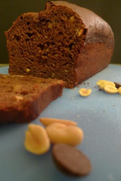 Рецепт Шоколадно-банановый хлеб
