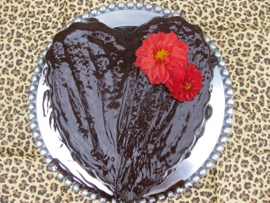 Рецепт Шоколадный торт с ганашем