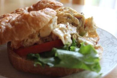 Рецепт Бутерброд с куриным салатом