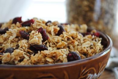 Рецепт Гранола с кокосом и орехами