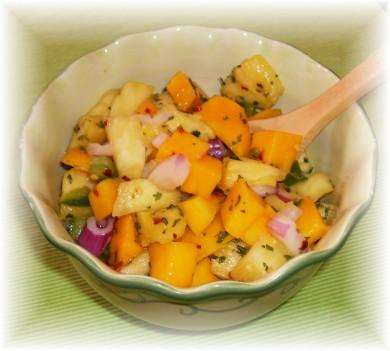 Рецепт Тропическая фруктовая сальса