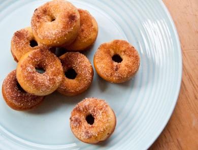 Рецепт Пончики с корицей