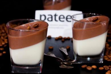 Рецепт Панна-котта с шоколадом и сгущённым молоком