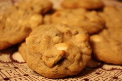 Рецепт Печенье с орехами и инжиром