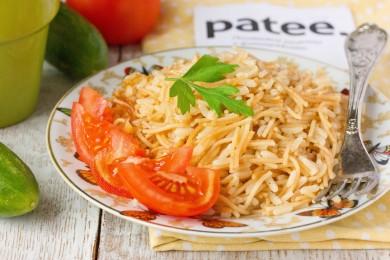 Рецепт Гарнир из риса и вермишели