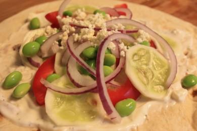 Рецепт Бутерброд с овощами