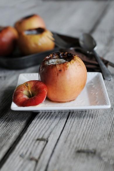 Рецепт Печеные яблоки с корицей