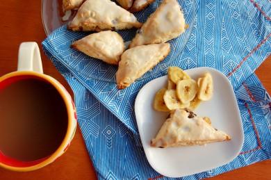 Рецепт Булочки с шоколадом и бананами