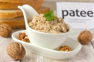 Рецепт Паштет из грецких орехов и яиц