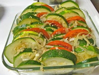 Рецепт Овощной тиан