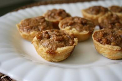 Рецепт Тарталетки с ореховой начинкой