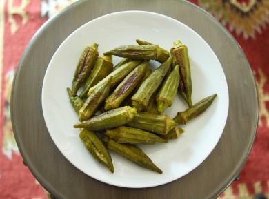 Рецепт Печеная бамия