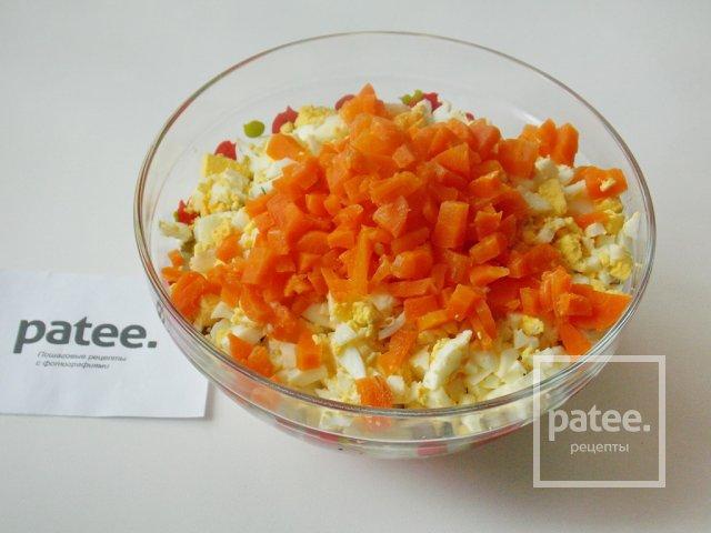 Салат крабовые палочки картошка