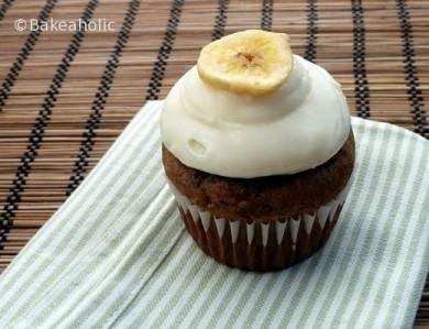 Рецепт Банановые кексы с кабачком