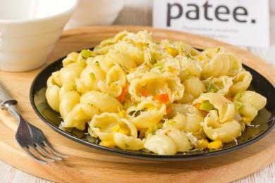 Рецепт Паста с овощным миксом