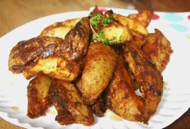 Рецепт Печеный картофель с паприкой
