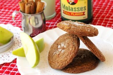 Рецепт Яблочное печенье с мелассой
