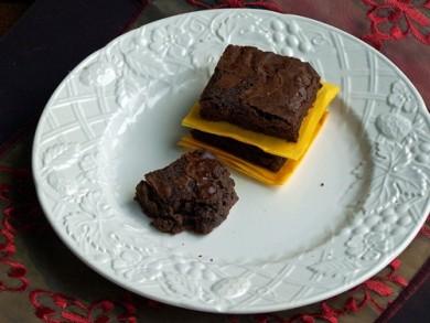 Рецепт Брауни с двойным шоколадом