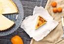 Пирог  с абрикосами и манго