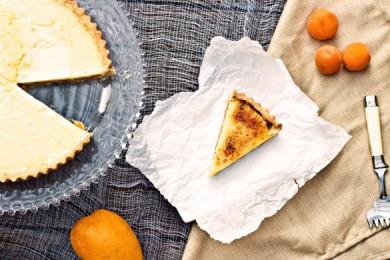 Рецепт Пирог  с абрикосами и манго