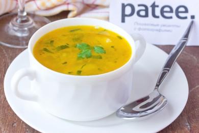 Рецепт Суп с галушками по-домашнему