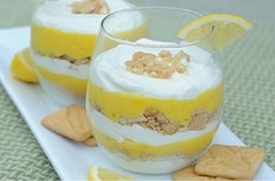 Рецепт Парфе с лимонным кремом