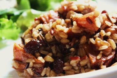 Рецепт Рис с яблоками и сладким картофелем