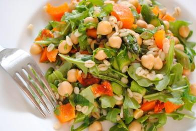 Рецепт Ячменный салат с овощами