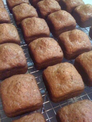 Рецепт Кабачковый хлеб с орехами и ананасами