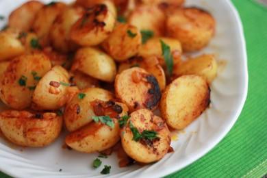 Рецепт Жареный картофель с паприкой