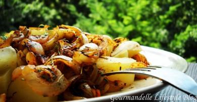 Рецепт Картофель с луком и специями