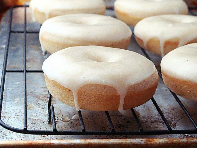 Пончики глазированные рецепт