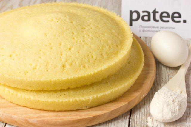 бисквит для торта видео рецепты