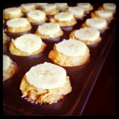 Рецепт Бананово-тыквенные кексы
