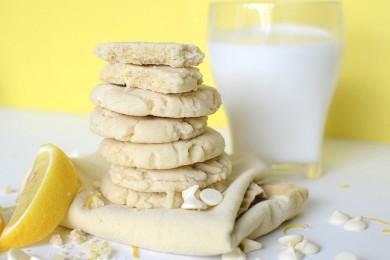 Рецепт Лимонное печенье с белым шоколадом