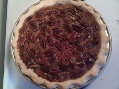 Рецепт Пирог с пеканом