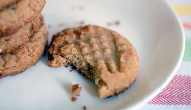Рецепт Вегетарианское арахисовое печенье