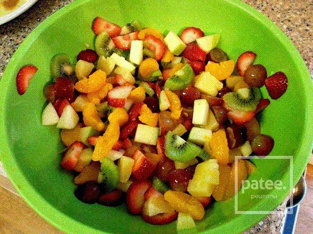 Фруктовый салат фото в домашних условиях