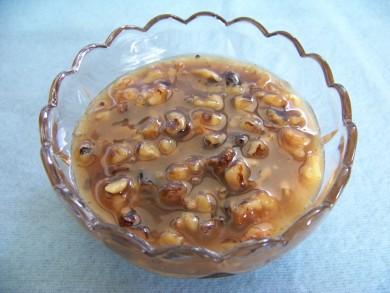Рецепт Карамельный сироп с орехами