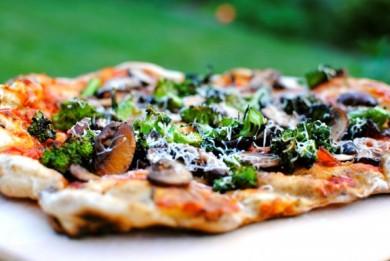 Рецепт Летняя пицца на гриле