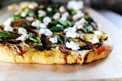 Рецепт Пицца с овощами на гриле