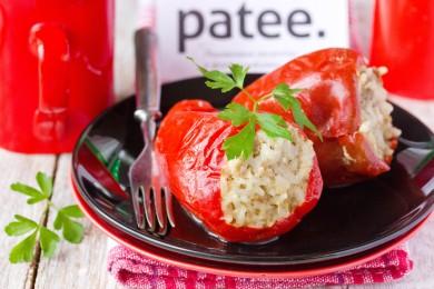 Рецепт Перец, фаршированный свининой и рисом