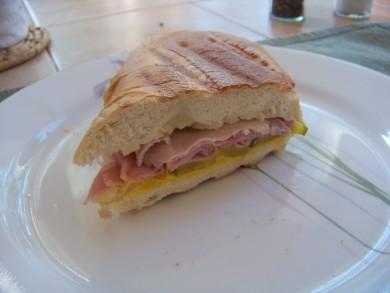 Рецепт Кубинский сэндвич