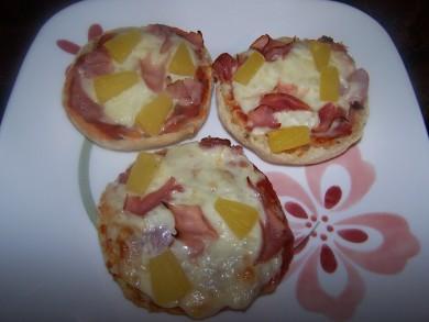 Рецепт Мини-пицца по-гавайски